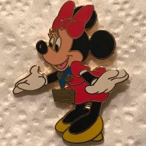 3/$30 Minnie Mouse Enamel Pin